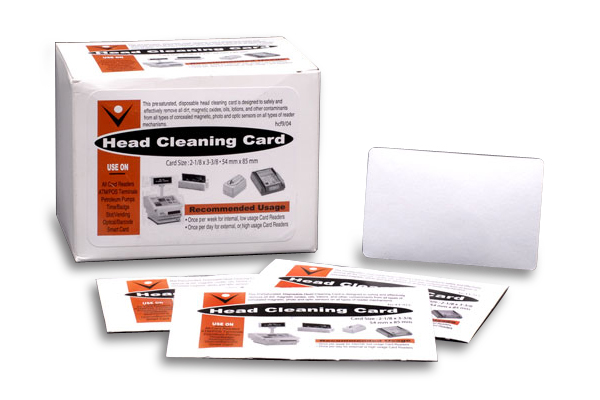 POS Cleaning Cards