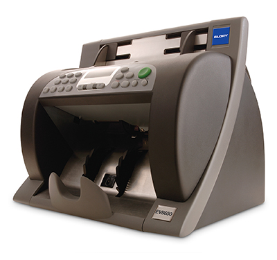 Glory EV8650 Banknote Counter