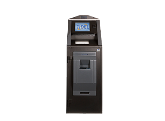 Tidel TR250 Banknote Recycler height