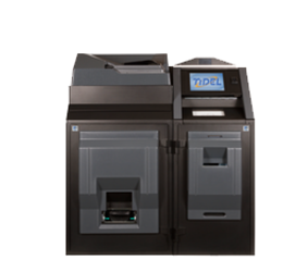 Tidel TR253 Banknote and Coin Recycler Height