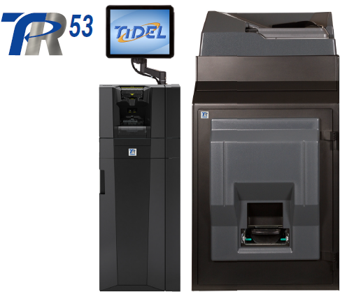 Tidel TR53 Cash & Coin Recycling System.
